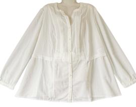 SHEEGO Mooie roomkleurige blouse 48-50