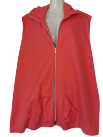ECOLE Trendy mouwloos stretch vest 50-52