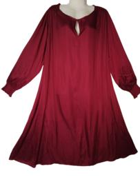 YESTA Aparte wijde satin jurk 50