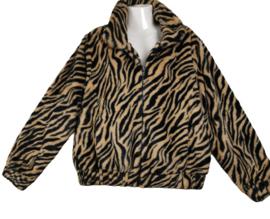 IVY BEAU Mooi fake fur gevoerd jasje 44-46