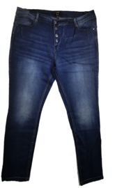 X-Two Super gave stretch jeans met knopen 50-52