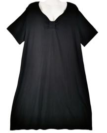 BEKA Leuke zwarte stretch jurk 48-50