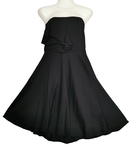 MAT FASHION Aparte strapless stretch jurk 48-50
