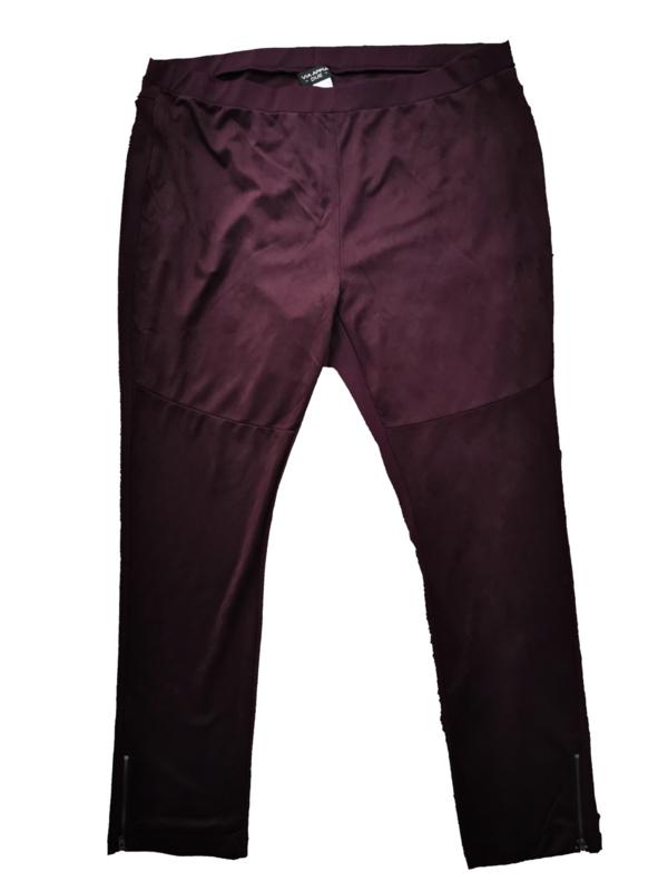 VIA APPIA Trendy stretch velvet tregging 54