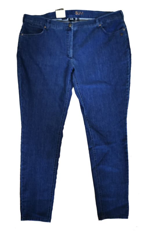 LAURIE Mooie slim fit stretch jeans 52