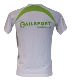 Railsport multifunctioneel sport shirt - Lime (unisex)