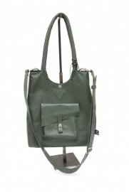 100% Recycled Leather Bag