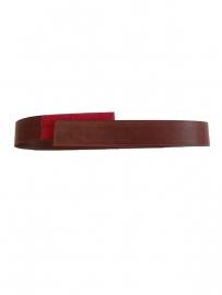 Recycled Leather Belt /Medium