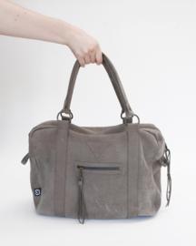 Gray Weekend Bag