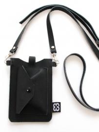 Smartphone tasje | zwart