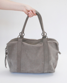 Gray Weekend Bag