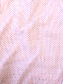 mondkapje roze / fluor stipje