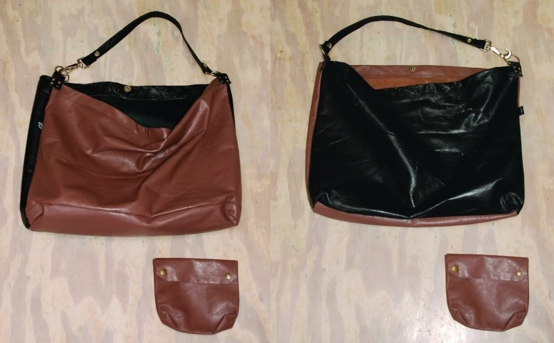 recycled big shopper bag