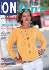Brei- en haakboek ONline Garne nummer 35, voorjaar en zomer 2014