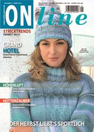 Brei- en haakboek ONline Garne nummer 41, Herfst 2015