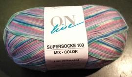 Supersocke 100 Mix Color 1482