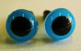 Veiligheidsoog - helder blauw (4190)
