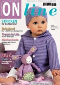 Baby en kinderbrei- en haakboek ONline Garne, nummer 4