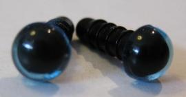 Veiligheidsoog - Kristal/blauw (4414)