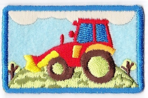 Tractor Rood (4343)