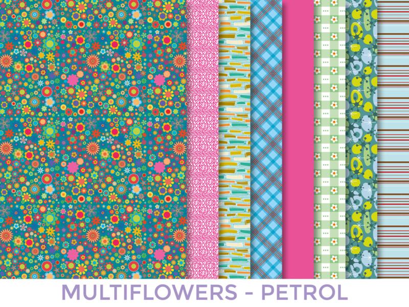 Multiflower Petrol (164679)