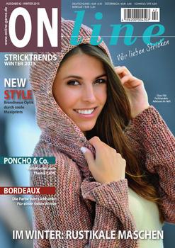 Brei- en haakboek ONline Garne nummer 42, Winter 2015