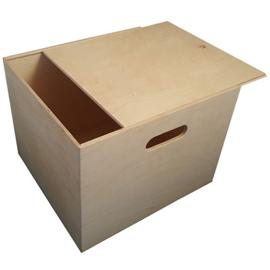 Kist met schuifdeksel vierkant