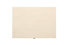 A4 formaat houten kist met deksel
