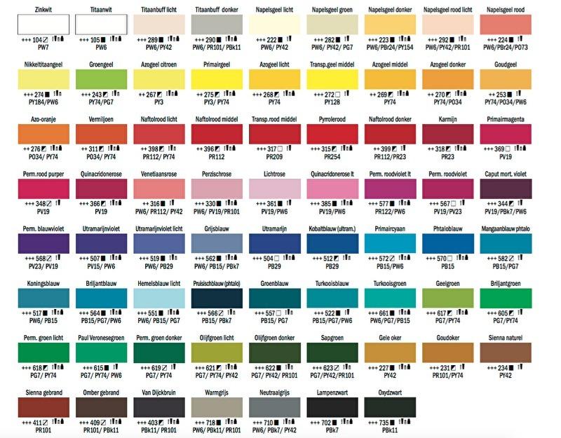 Acrylkleuren
