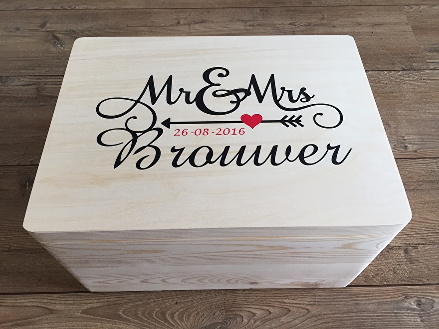 Mr Mrs Trouwkist