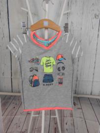 Grijze t shirt B Nosy mt 98/104
