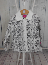 Witte blouse Little Miss Juliette mt 110