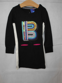 Zwart witte jurk B Nosy mt 86/92