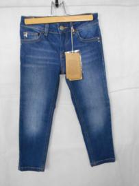 Donkerblauwe jeansbroek Patrizia Pepe mt 116