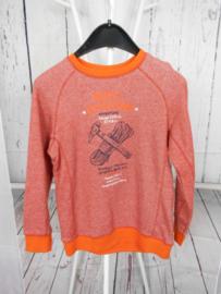 Oranje sweater Blue Seven mt 128