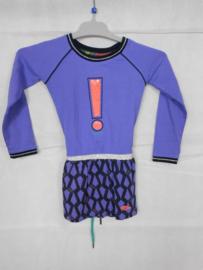 Paarse jurk Quapi mt 98/104