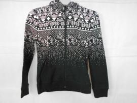Zwart witte cardigan GSUS mt 134/140