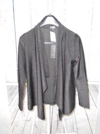 Zwarte cardigan D-XELL mt 140