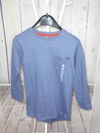 Blauw sweatshirt Tumbl n Dry mt 128