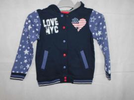 Donkerblauwe vest Blue Seven mt 110
