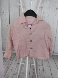 Roze blouse Micro Bulle mt 98
