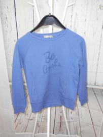 Blauw sweatshirt Geisha mt 140