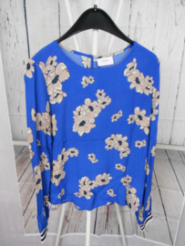 Blauwe blouse Grunt mt 140