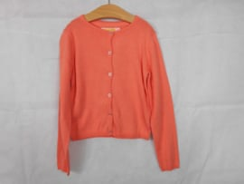 Oranje cardigan SomeOne mt 128