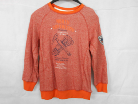 Oranje sweater Blue Seven mt 116