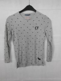 Grijze sweatshirt Retour mt 146/152