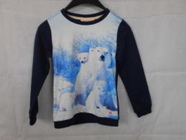 Donkerblauwe sweater SomeOne mt 116
