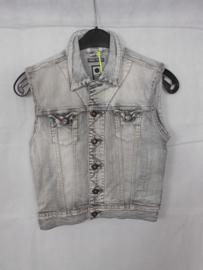 Grijze jeansvest Tumbl n Dry mt 146/152