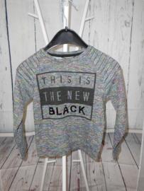 Grijze sweatshirt B-Karo mt 128