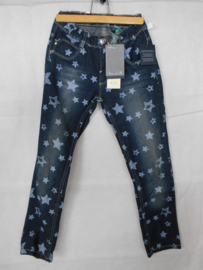 Donkerblauwe jeansbroek Blue Seven mt 128